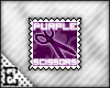 [E] PurpleScissors Stamp