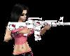 hello kitty M16