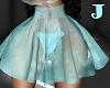*J* Teal Skirt RLL