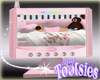 Baby Monitor Screen Pink