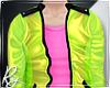 Green Celebrity Jacket I