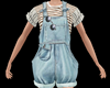 Short Country Overalls