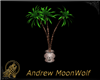 MW Planter Palm Tree