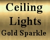 Ceiling Lights Gold