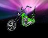 Lime Green Chopper