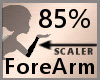 Scale ForeArm 85% F A