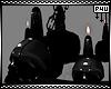 -P- Skull Chandelier PVC