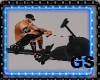 GYM ROWING MACHINE ANIM.