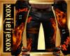 [L] WOLF Fire Pants M