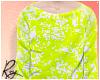 Neon Green Long Tee