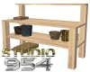 S954 Ladys Potting Table