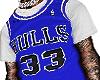 Bulls 33 White Tee V2