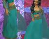 (MSis) Aqua Gypsy Skirt