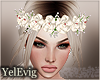 [Y] Belle flower crownn