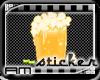 [AM] Root Beer Sticker