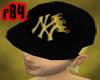 [r84] Blk&Gold King Cap