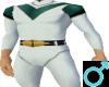 V-Force Bodysuit Green M