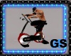 GYM EXERCISE BIKE ANIMAT