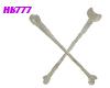 HB777 THGC Bone Hairpins