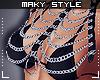 M:Chain bra