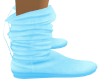Child Blue Slouch Boot