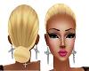 Moño blonde 4 hat