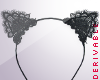 Lace Cat Ears Tiara