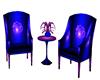 new romantic blu 2 chair