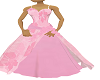 pale pink gown