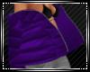 Dk Purple Puffer Jacket