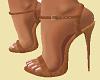 "Brown Suede 5"" Heels"