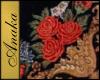 Red Rose Oriental Rug 1