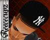 {BE}Black NY hat