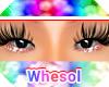 red glitter eyeshadow