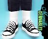! M' Grunge Kicks &Socks