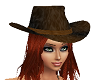 RedHaired Cowboy Hat ADP