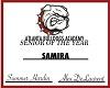 Samira senior award
