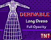 Derivable Long Dress