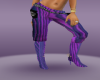 Hip Hop Purple Bottoms