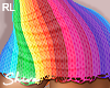 $ Pride/Rainbow Skirt RL