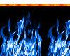 RW# Blue flame fence