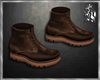 {L} Brown Boots