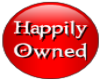 Happily Owned Button
