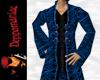 Retro Goth Coat BLUE