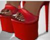 Vegan Playa Heels Red