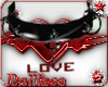(DF)BLACK LOVE COLLAR