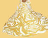GOLD & WHITE   GOWN