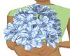 blue flower bouquet