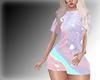 Pastel Tshirt Dress