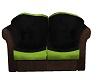 suede love seat B/G